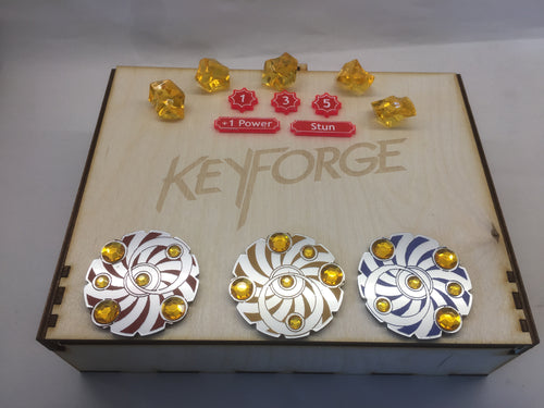Keyforge compatible token set