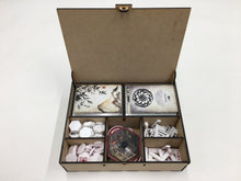L5r Double deck and accessories storage box/tournament box  with customised engraving
