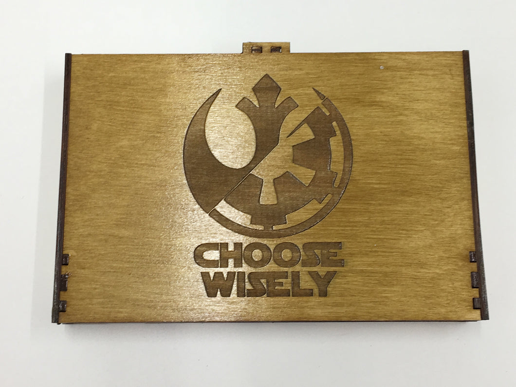 Star wars destiny 16 dice tournament tray/storage box  with customised engraving