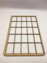Miniature storage tray insert custom cut service