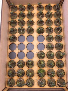 Miniature storage tray 25mm circle insert
