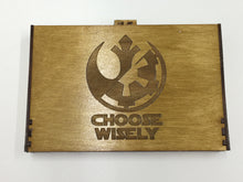 Star wars destiny 24 dice tournament tray storage box  with customised engraving