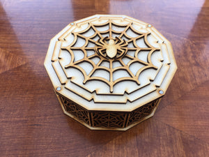 Ornate deck box compatible with various games including Marvel Champions lcg. Various designs available.