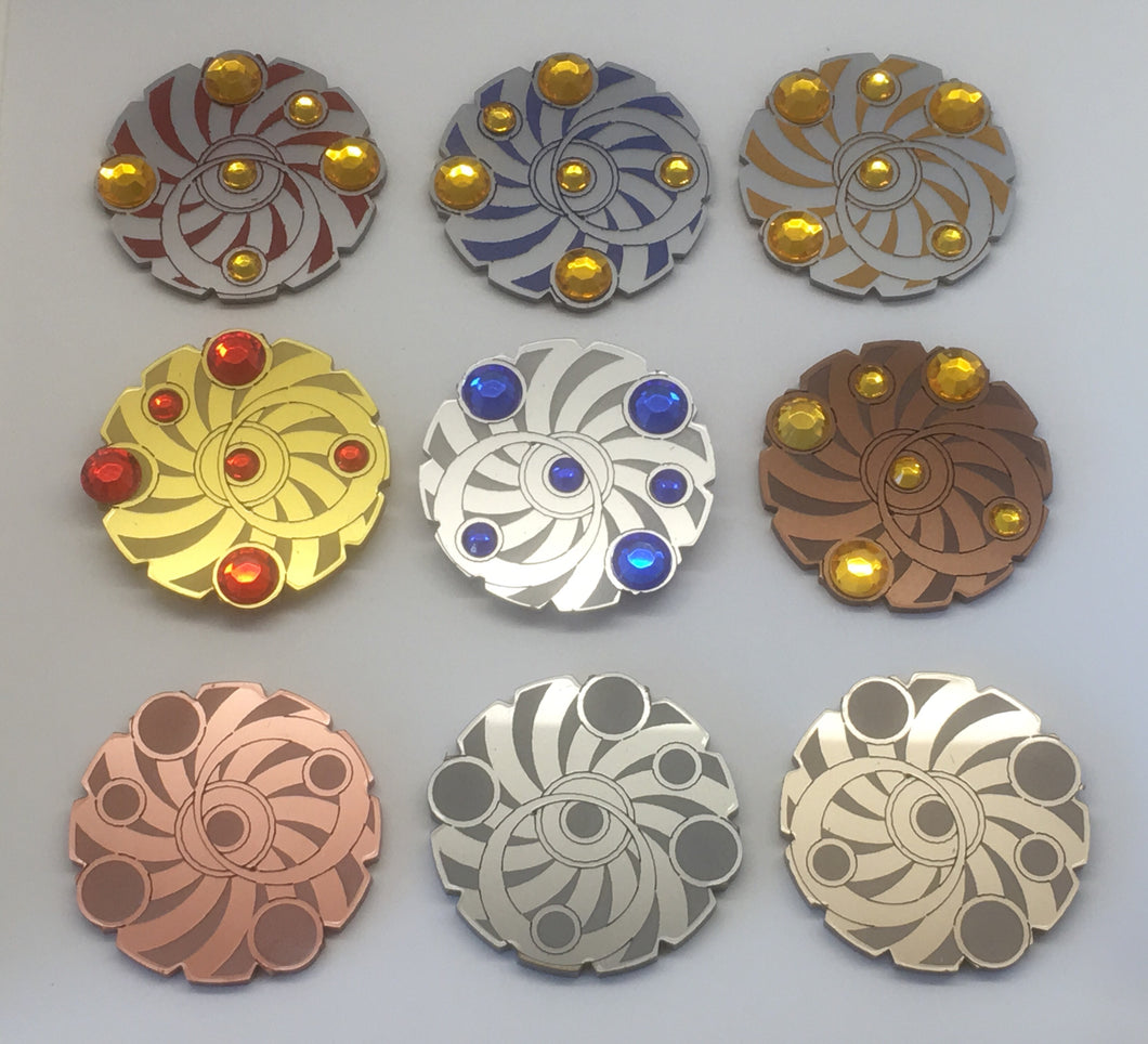 Keyforge compatible key tokens