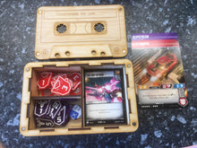 Transformers card game cassette box