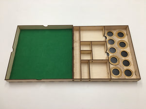 Large Tournament tray with magnetic sheet