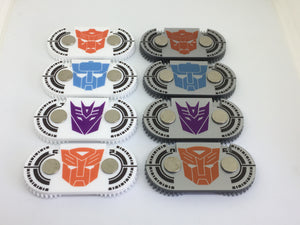 Premium Life counters compatible with transformers tcg. Full colour, no painting required