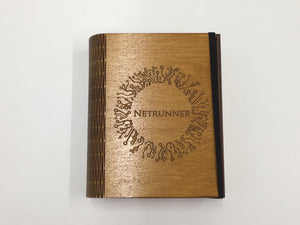 Double card deck book with customised engraving