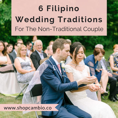 6 Simple Filipino Wedding Traditions For The Non-Traditional Couple