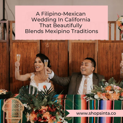 A Filipino-Mexican Wedding In California That Beautifully Blends Mexipino Traditions