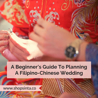 A Beginner's Guide To Planning A Filipino-Chinese Wedding