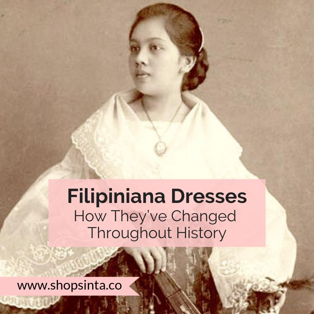 The history of Filipiniana Dresses