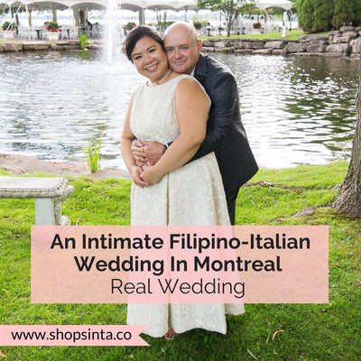 An Intimate & Inspired Filipino-Italian Wedding In Montreal
