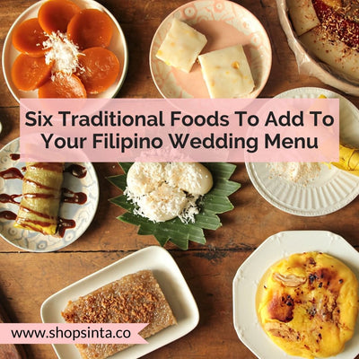 Six Traditional Foods To Add To Your Filipino Wedding Menu
