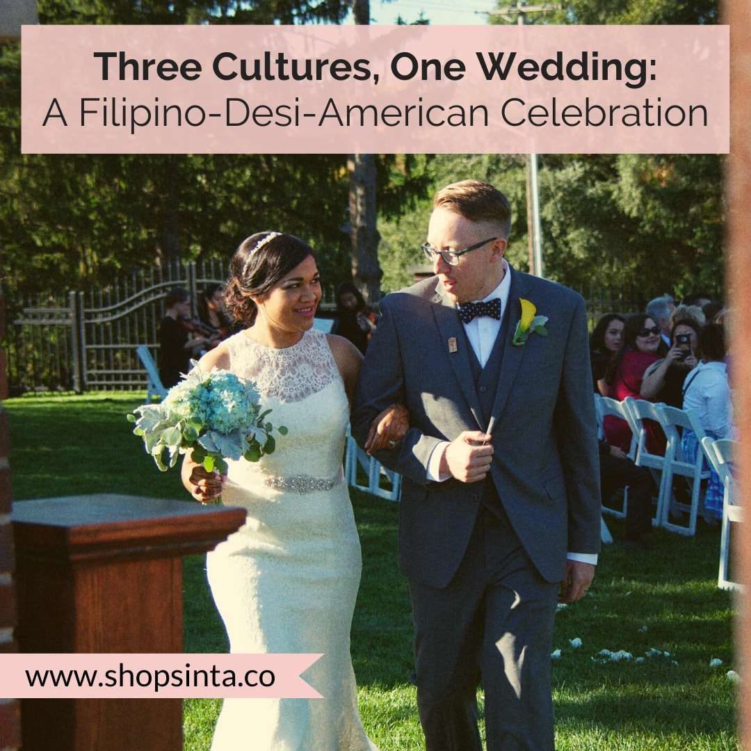 Three Cultures, One Wedding: A Filipino-Desi-American Wedding Celebration