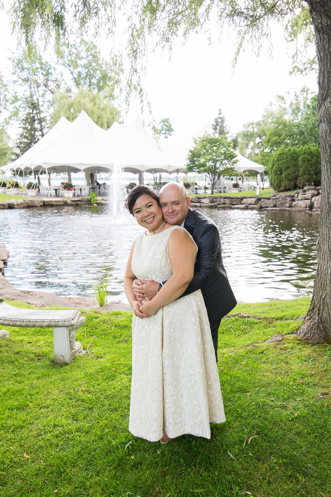 Filipino and Italian Intercultural Wedding in Montreal at the Chateau Vaudreuil