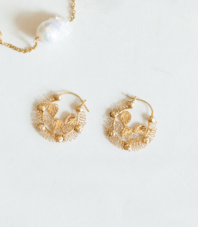 Leona Creolla Earrings