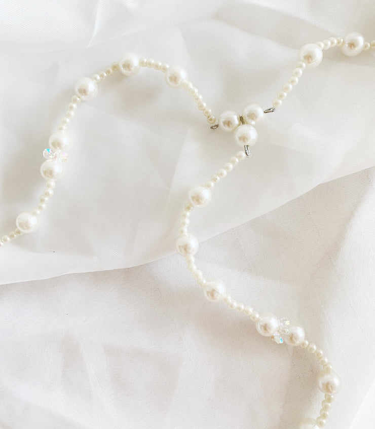 Pearl Rosary Wedding Unity Cord