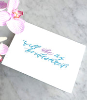 Bridal Party Proposal Cards Pinya Letters