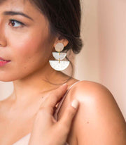 Valentina Capiz Earrings