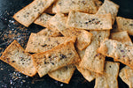 Crisp rosemary and olive oil flatbread
