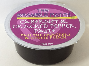 The Bramble Patch Cabernet & Cracked Pepper Paste 95g