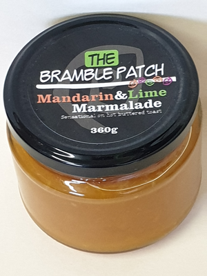 The Bramble Patch Mandarin & Lime Marmalade 360g