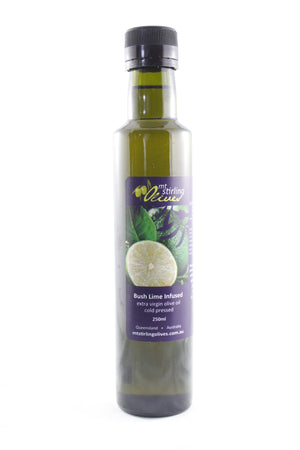 Bush Lime Infused Extra Virgin Olive Oil