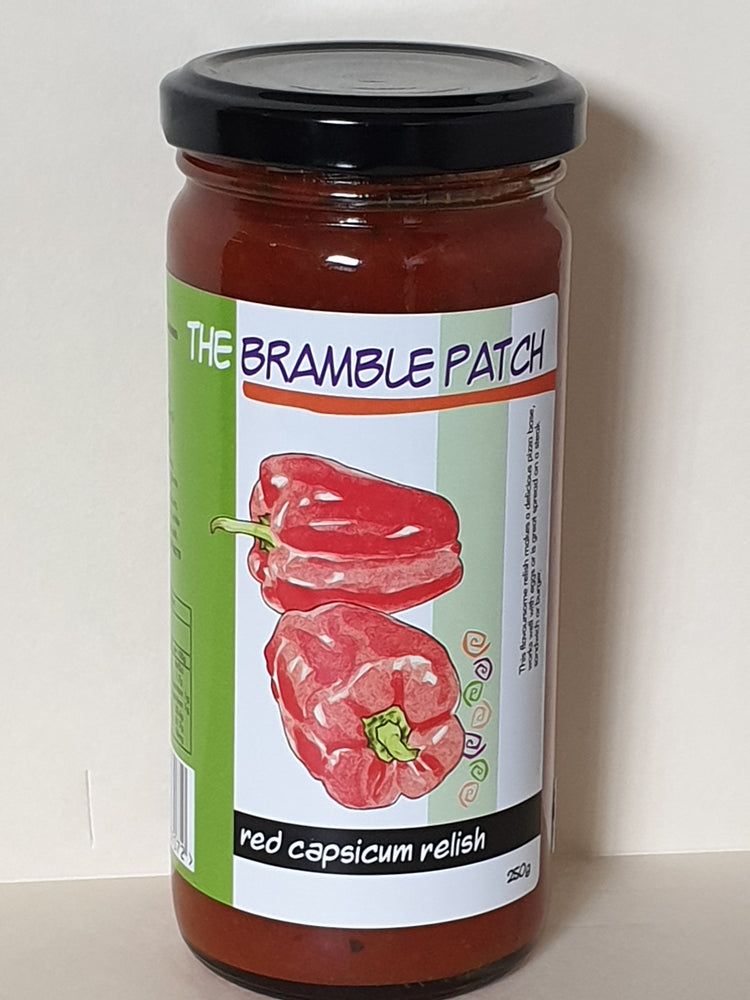 The Bramble Patch Red Capsicum Relish 250g