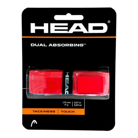 Grip Head Dual Absorbing Rojo