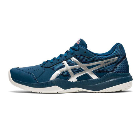 Tenis Asics Gel Game 7 Gs Jr Azul/Plata