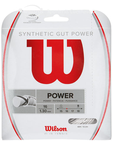 Set de Cuerda Wilson Synthetic Gut Power