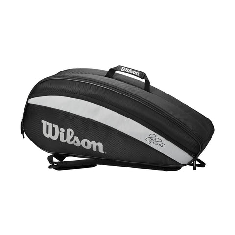 MALETERO WILSON FEDERER TEAM 6 PACK BLACK