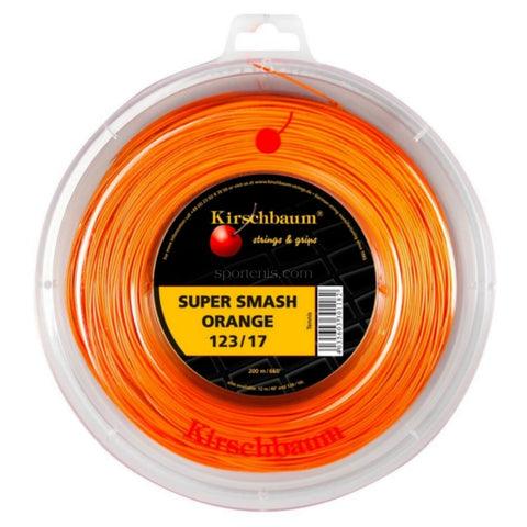 Rollo Kirschbaum Super Smash Orange 16 C 200 Metros