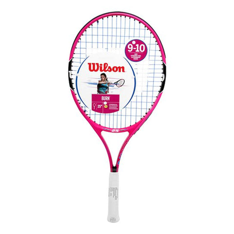 RAQUETA WILSON BURN PINK JUNIOR 25