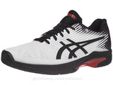 Tenis Asics Solution Speed FF Bco/neg