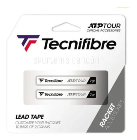 Plomo Tecnifibre Lead Tape ATP 10 Bars OF 2g
