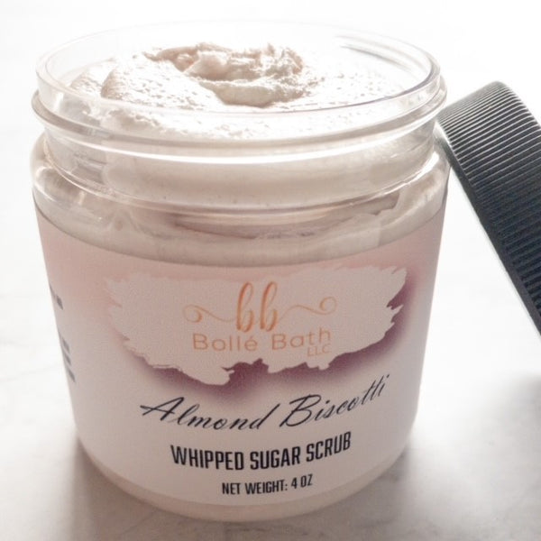 Almond Biscotti Whipped Sugar Scrub