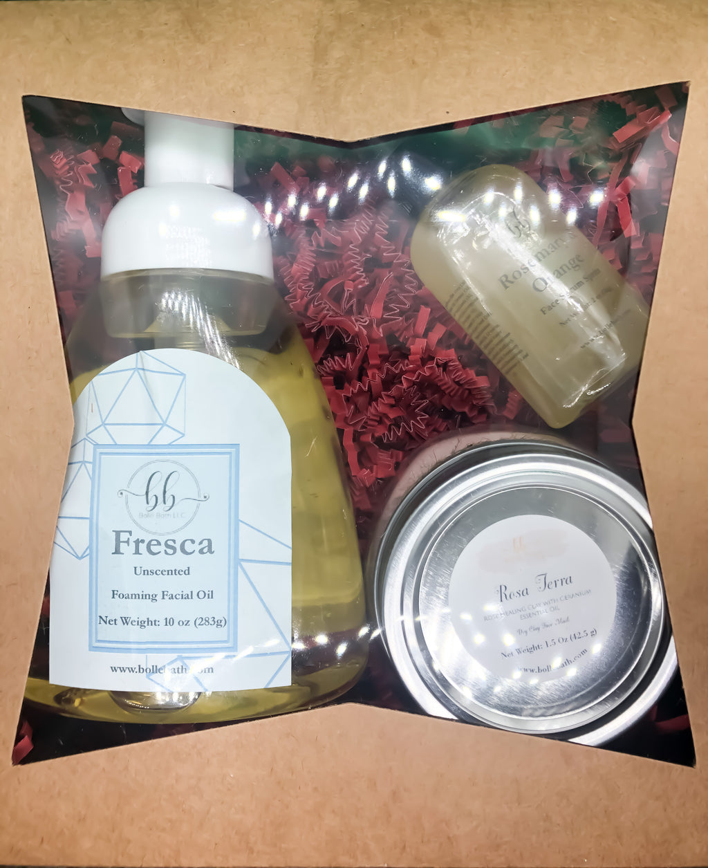 Facial Skin Care Gift Set - Bollé Bath llc