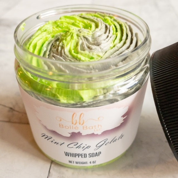 Mint Chip Gelato Whipped Soap