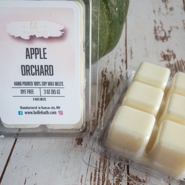 Apple Orchard Natural Soy Wax Melt Cubes