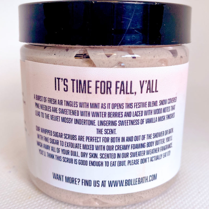 Cashmere Fall Whipped Sugar Scrub