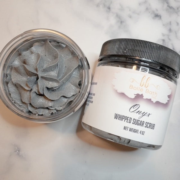Onyx Whipped Charcoal Sugar Scrub