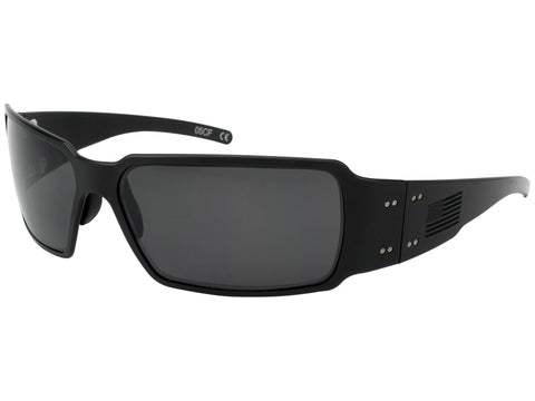 GATORZ PATRIOT - BOXSTER BLACKOUT - BLACK -BO AMERICAN FLAG - SMOKED POLARIZED LENS