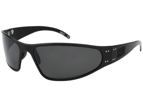 GATORZ PATRIOT - WRAPTOR BLACKOUT - BLACK -BO AMERICAN FLAG - SMOKED POLARIZED LENS