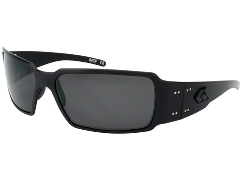 GATORZ BOXSTER - BLACKOUT - SMOKED POLARIZED LENS