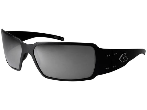 GATORZ BOXSTER - BLACK - SMOKED W/ CHROME LENS