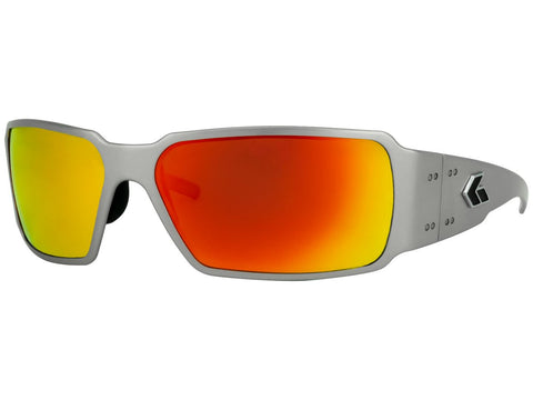 GATORZ BOXSTER - BRUSHED - SUNBURST MIRRORED POLARIZED LENS