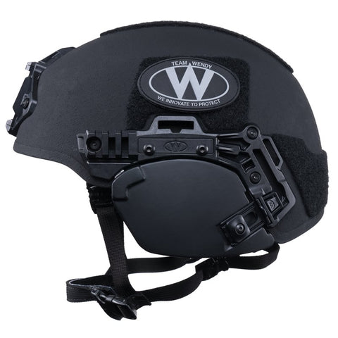 TEAM WENDY EXFIL BALLISTIC EAR COVERS: BLACK