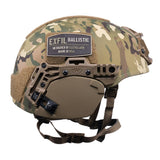 TEAM WENDY EXFIL BALLISTIC EAR COVERS: COYOTE BROWN